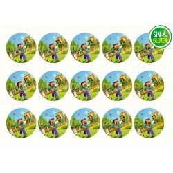 Figuras de azúcar balones Funcakes (8 Uds)