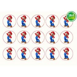 Mario Bros Oblea para Galletas Nº 988