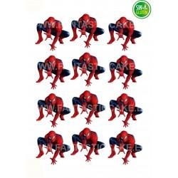 Spiderman, figuras en oblea Nº 984