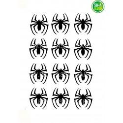 Arañas Spiderman, figuras en oblea Nº 985