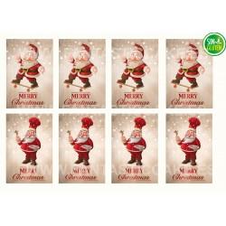 Oblea rectangular de Navidad Nº 1003
