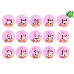 Minnie Mouse bebe Oblea para Galletas Nº 998