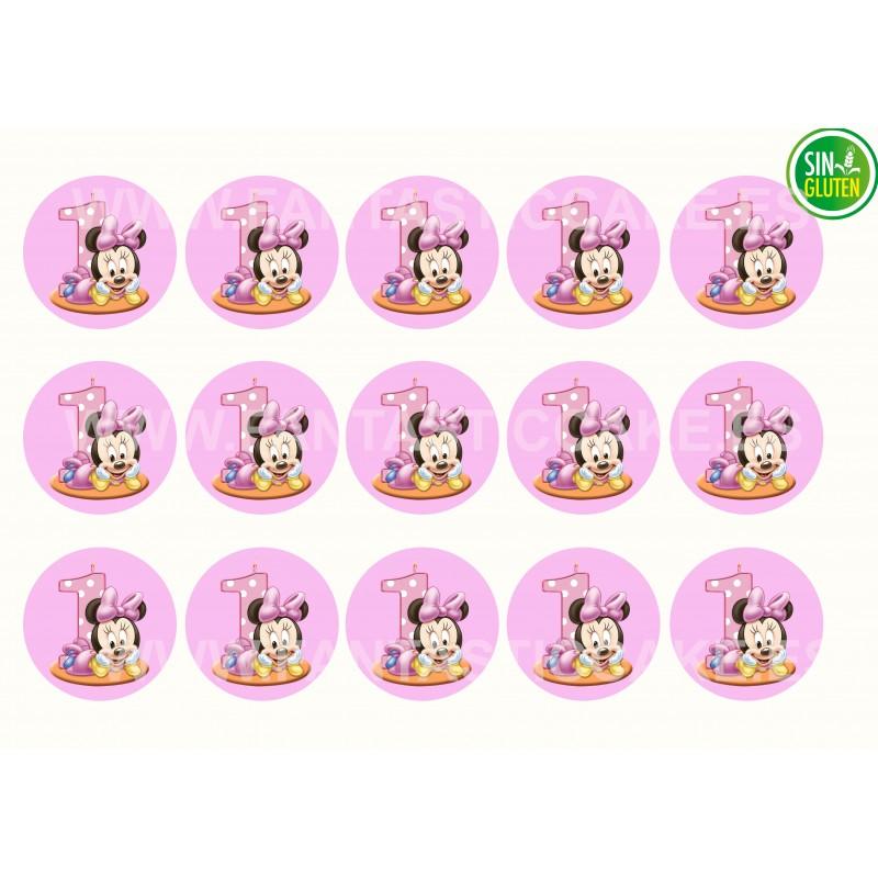 Minnie Mouse bebe Oblea para Galletas Nº 998