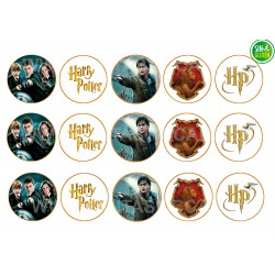 Obleas Harry Potter para Galletas Nº 515