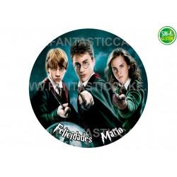 Oblea personalizada Harry Potter Nº 937