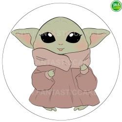 Oblea Baby Yoda