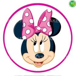 Oblea para tarta de Minnie Nº 8