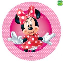 Oblea para tarta de Minnie Nº 9