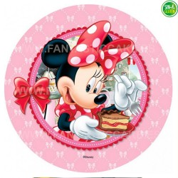 Minnie Mouse - Obleas para tarta Minnie Nº 17