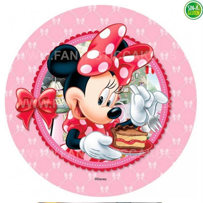 Minnie Mouse - Obleas para tarta Minnie Nº 17