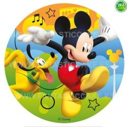 Impresión Comestible para tarta de Mickey Nº 18
