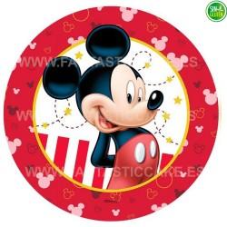 Mickey Mouse - Oblea para tarta Nº 20