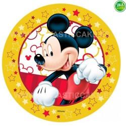 Impresión Comestible para tarta de Mickey Nº 21