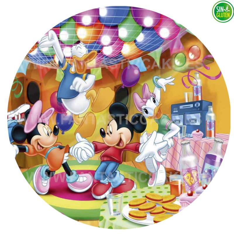 Oblea comestible para tarta de Mickey Nº 29