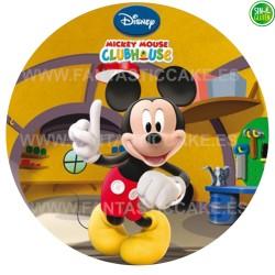 Oblea impresa para tarta de Mickey Nº 30