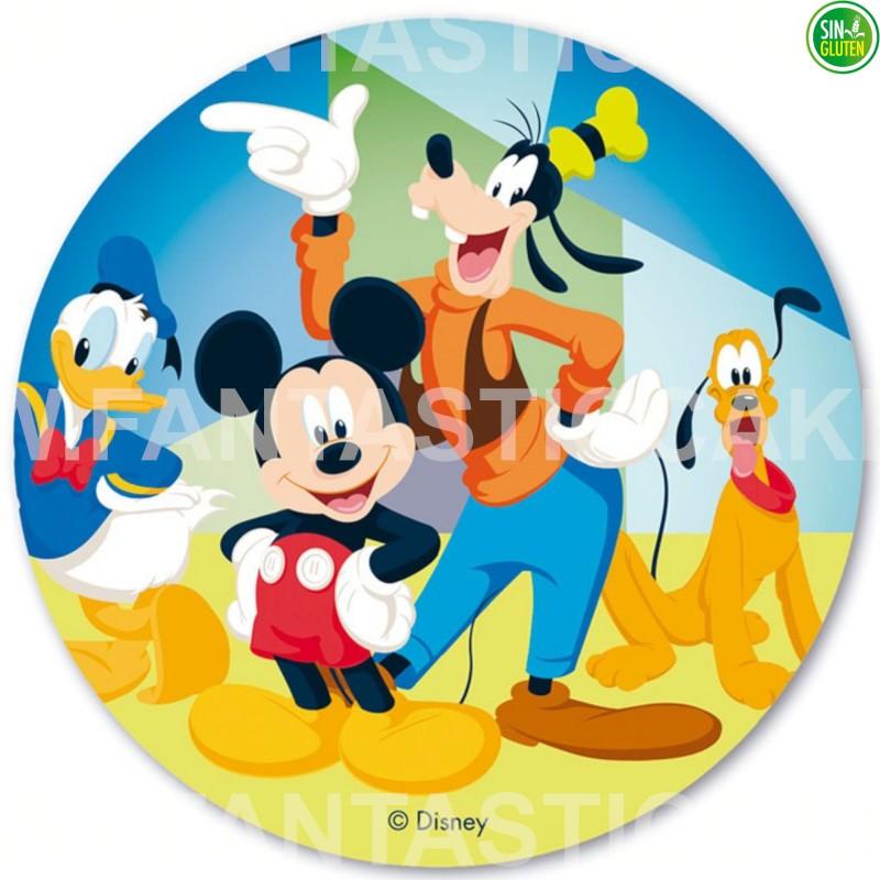 Oblea de Mickey para tarta Nº 31