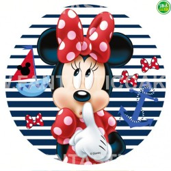 Oblea impresa para tarta de Minnie Nº 35