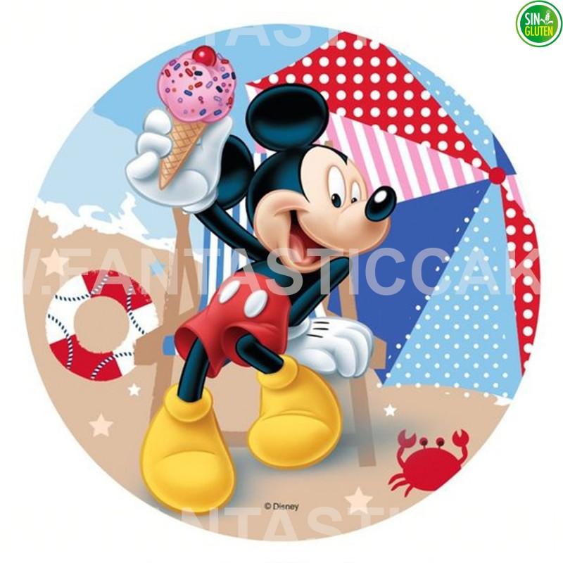 Oblea para tarta de Mickey Nº 37