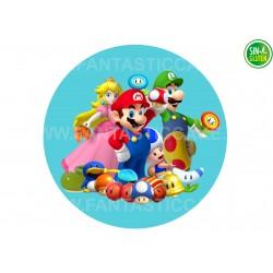 Mario Bross, Oblea para tarta Nº 502