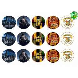 Oblea para Galletas Harry Potter Nº 517