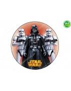 Obleas para tartas de Star Wars